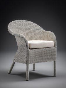 Lloyd Looms Tivoli Grande Chair Grey