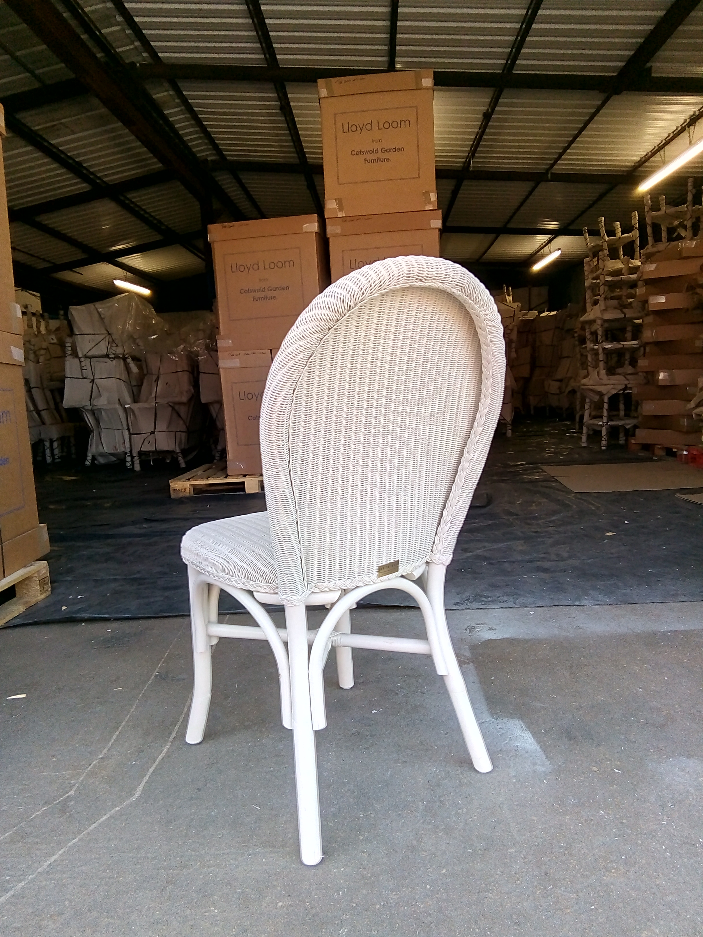 Lloyd Loom Bistro Chairs