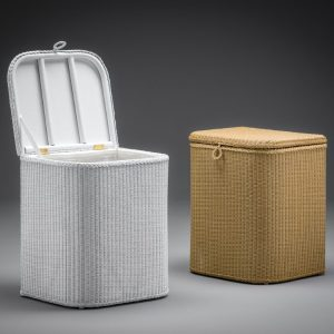 Lloyd Loom Linen Baskets