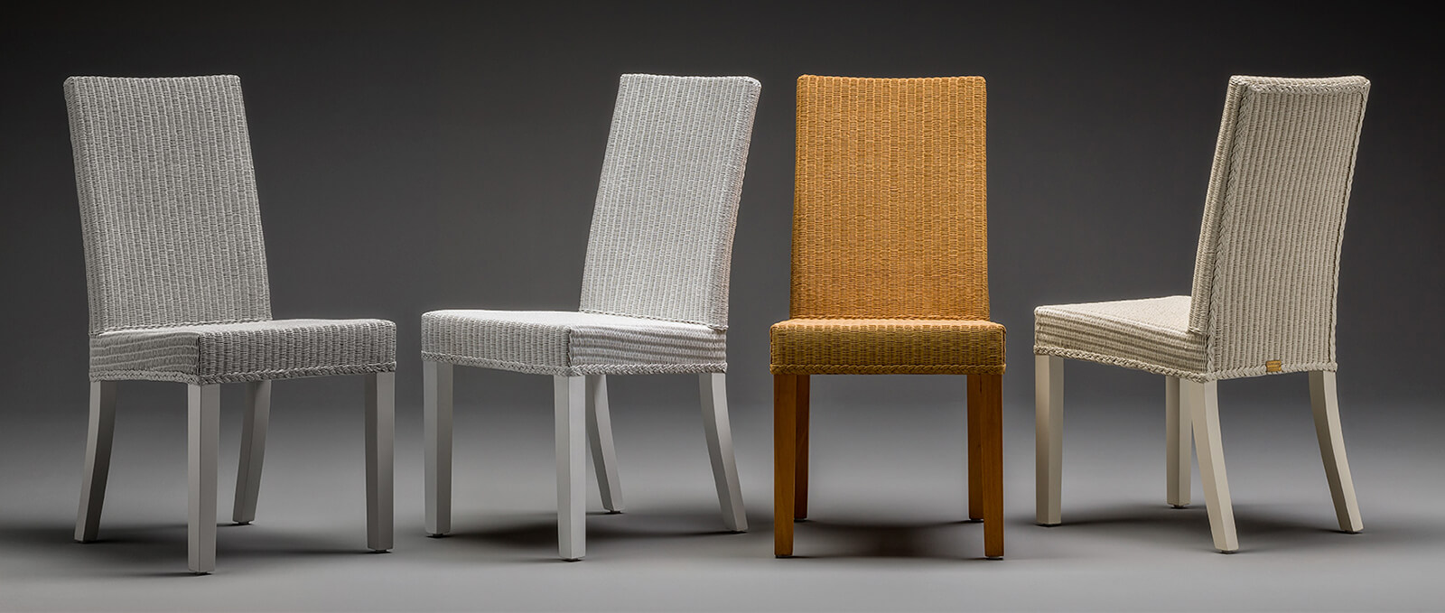 Lloyd Loom Dining Room Chair Collection